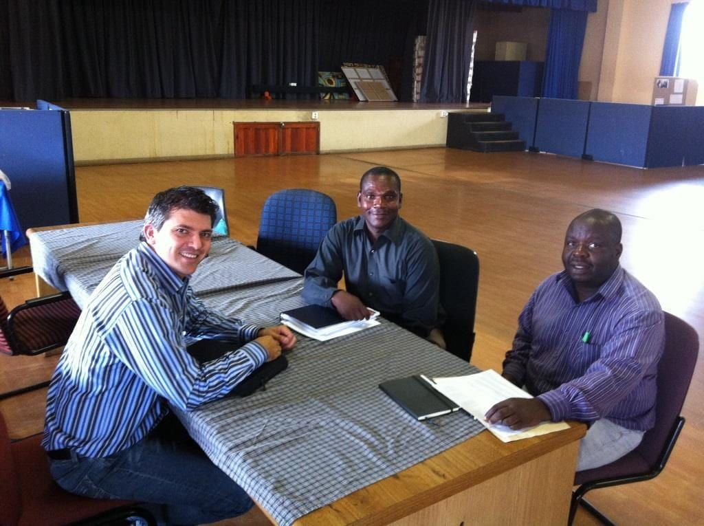 Participate Technologies sponsoring Diepsloot Combined School with 150 clickers