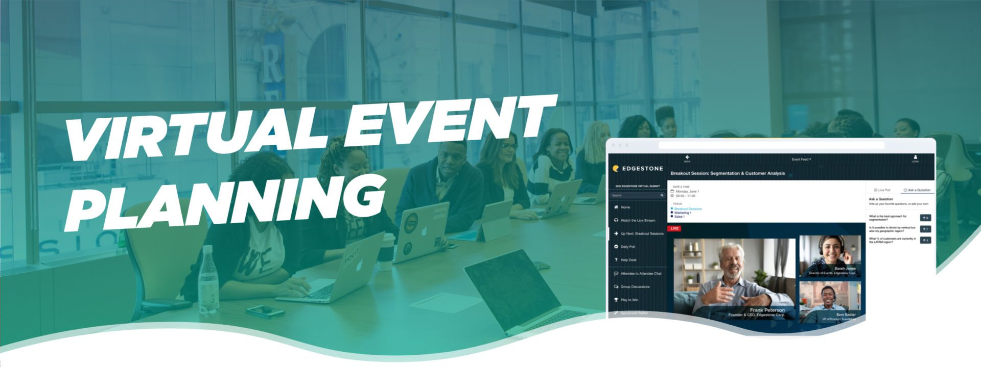 Craft a great event experience